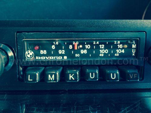 Blaupunkt Bavaria S Stereo Bmw Oem Classic Car Fm Radio